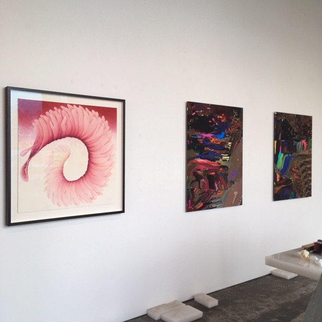 VIVID, Installation View, L-R Filomena Coppola and Sue Beyer